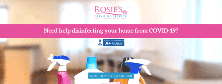 Need help disinfecting your home from COVID-19?