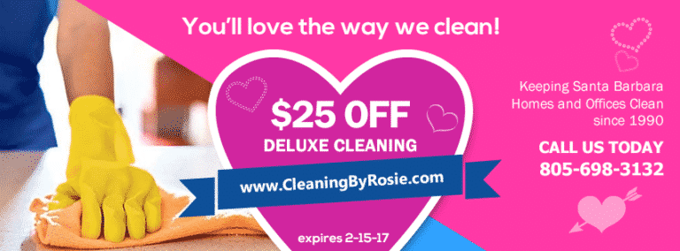 Time For a New Relationship. Rosie's Cleaning Service.